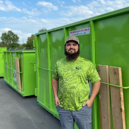 Brandon Wickwire- Dumpster Delivery Expert